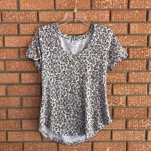 Leopard Print Tee Shirt